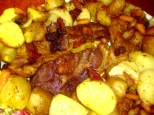oven roasted pork and potatoes 2